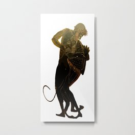 Hercules and The Nemean Lion Metal Print