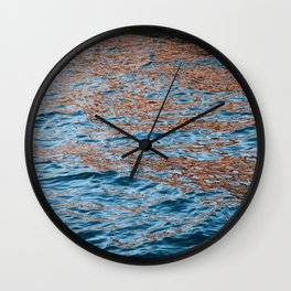iridescent ocean Wall Clock