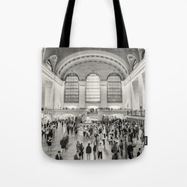Grand Central Terminal monochrome Tote Bag