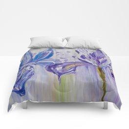 Diane L - Orchidés Comforters