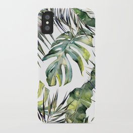 TROPICAL GARDEN 2 iPhone Case