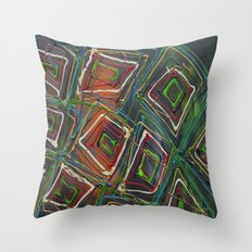 Kaleidescope Throw Pillow