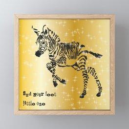 Find Your Feet Framed Mini Art Print