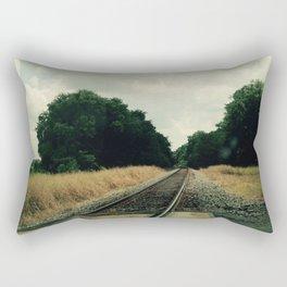 Railroad Rectangular Pillow