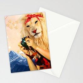 LEO WANDERLUST ADVENTURER Stationery Cards