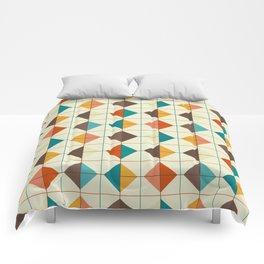 Retro Tiles #1 Comforters