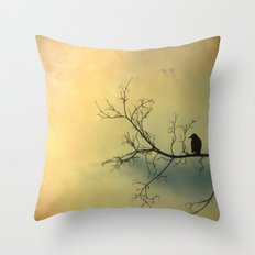 Solitude Mood Throw Pillow
