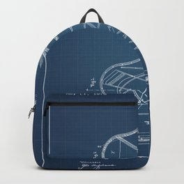 Grand Piano Patent - Blueprint Backpack