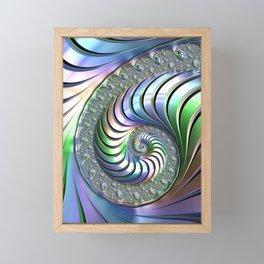 Colorful Spiral Framed Mini Art Print