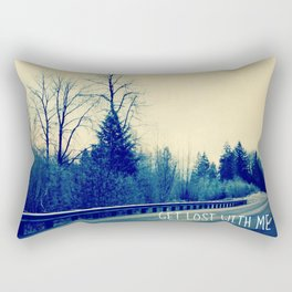 GET LOST on HWY 101 Rectangular Pillow