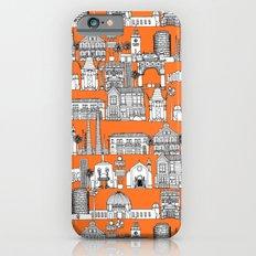 Los Angeles orange iPhone 6s Slim Case