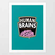 Human Brains Art Print