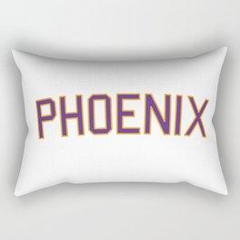 Phoenix Sports College Font Rectangular Pillow
