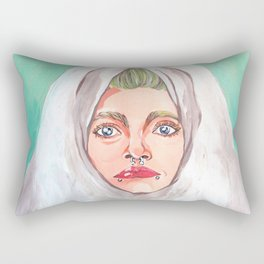 Artificial lights Rectangular Pillow