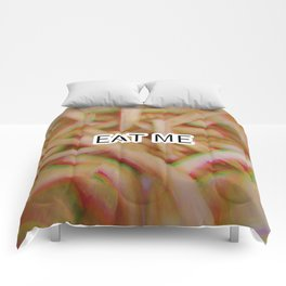 Eat Me French Fries Comforters