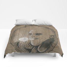Uncle Fester (DRAWLLOWEEN 31/31) Comforters