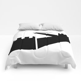 Great Wall Silhouette Comforters