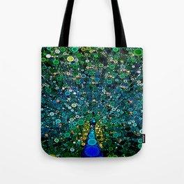 :: Peacock Caper :: Tote Bag