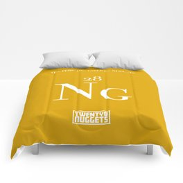 Periodic Table of Nuggets Comforters