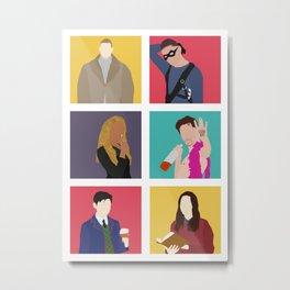 TUA Colors Metal Print