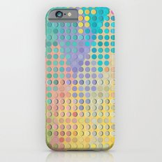 Colorful diamond hole punch iPhone 6s Slim Case