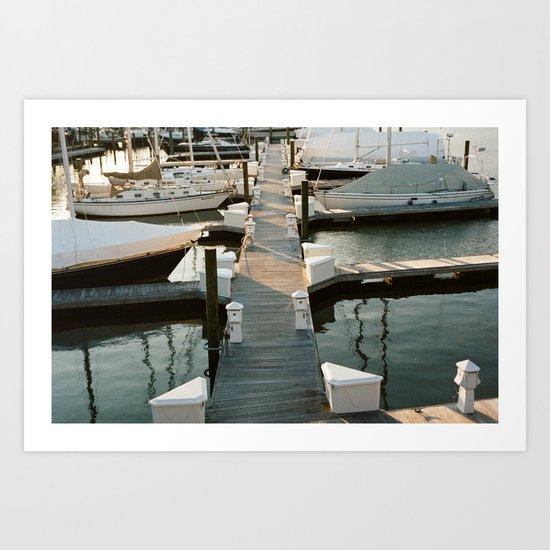Shore Power Art Print