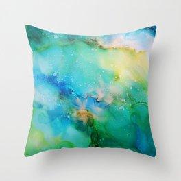 Blellow Throw Pillow