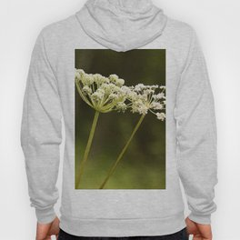 Together - White Plants On A Green Background #decor #society6 Hoody