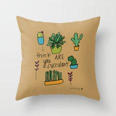 Plant Love. Throw Pillow
