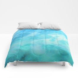 Water Fantasia #decor #buyart #society6 Comforters