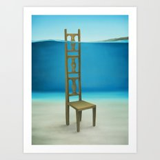 Waiting Place Art Print