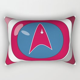 Captain, Federation Rectangular Pillow