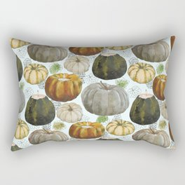 Autumn pumpkins. Rectangular Pillow