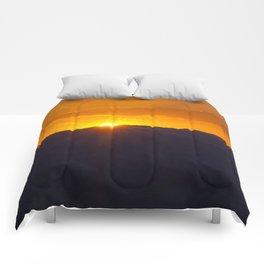 Fiery Glow Comforters