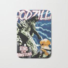 Godzilla War II Bath Mat