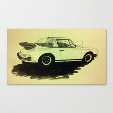 Porsche 911 SC Turbo Canvas Print