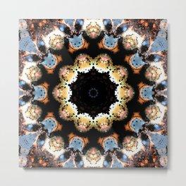 Inner Flower Mandala Metal Print