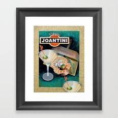 Dirty Joantini Framed Art Print