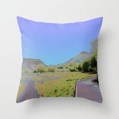Chromascape 10: Snowdon Throw Pillow