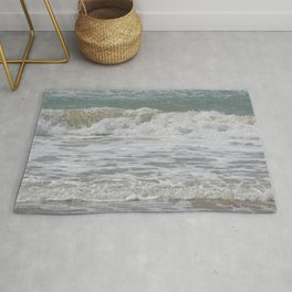 Loving the Waves number 4 Rug