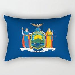 New York State Flag Rectangular Pillow