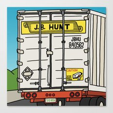 J.B. Hunt Canvas Print