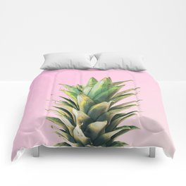 Pineapple Pink Comforters