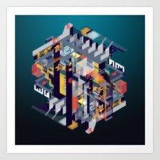 Habitat for Humanoids Art Print