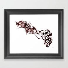 Gargoyles Framed Art Print