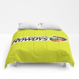 Fire Breathing Rowdys Full Logo Comforters