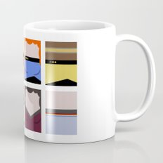 Enterprise 1701 D - Minimalist Star Trek TNG The Next Generation - startrek - Trektangles  Mug