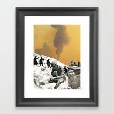 An Industrial Vice Framed Art Print