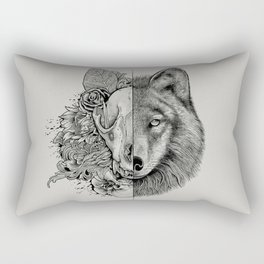 New Wolf (Half Life) Rectangular Pillow