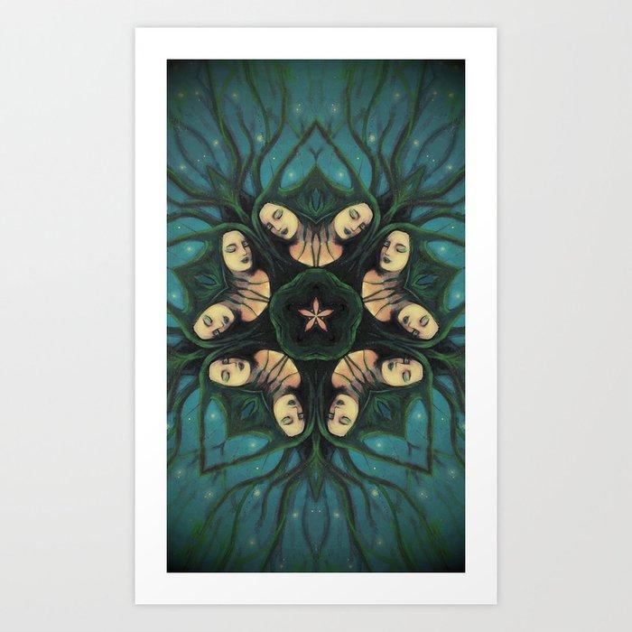 Coven Art Print